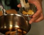 Панакота с круши и кафе 3