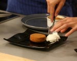 Лава кейк със сладко от мляко (дулсе де лече) 6