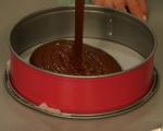 Какаов кекс с ванилов крем 4