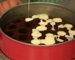 Какаов кекс с ванилов крем 8