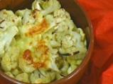 Запечен карфиол с тортелини