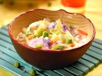 Зеленчукова супа с грах