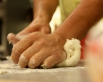 Плоски хлебчета със сирене 2