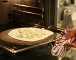Плоски хлебчета със сирене 5