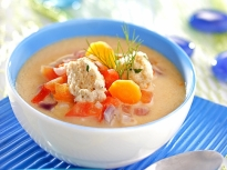 Супа с топчета от риба