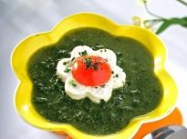 Супа от коприва със сирене