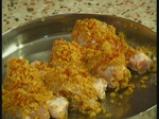 Хрупкави пилешки кълки с картофи 2