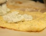 Яйчено руло с крем сирене и луканка 8