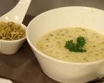 Супа от леща с кисело мляко 7