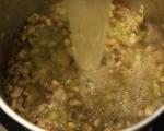 Пилешка супа с гъби и праз 9