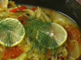 Мерлуза със зеленчуци