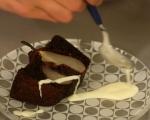 Кекс с круши и ванилов сос 10