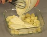 Ябълков пай с ванилов крем 9