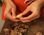 Шоколадов кекс с кестени  3