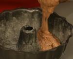 Шоколадов кекс с кестени  10