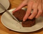 Шоколадов кекс с кестени  12