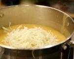 Картофена супа със зеле и пушени гърди 5
