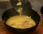 Картофена супа със зеле и пушени гърди 6