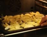 Картофи с яйца на фурна 2