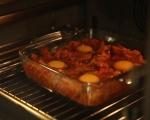 Картофи с яйца на фурна 8