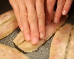 Маринована херинга със зелева салата 2