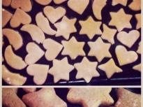 Коледни бисквити с мед