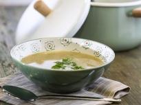 Крем супа от чесън и лук