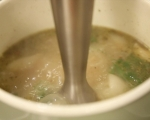 Крем супа от чесън и лук 6