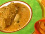 Пиле с фъстъчено масло