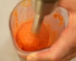 Омлет от белтъци с пилешко и червен сос 10