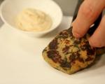 Зеленчукови кюфтета с чеснов сос 10