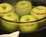 Карамелени ябълки с ориз 5