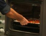 Печени филийки с шунка и пармезан 5