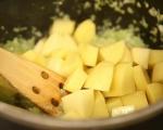 Картофена супа с шунка 3
