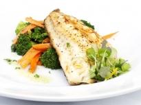 Бяла риба в билково масло