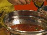 Печена скумрия в пресен доматен сос 2