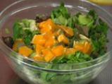 Салата от пролетни зеленчуци с портокал 5