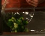 Хлебен пудинг с броколи и сирена 2