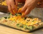 Хлебен пудинг с броколи и сирена 5