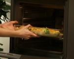 Хлебен пудинг с броколи и сирена 6
