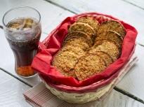 Овесени бисквитки с 5 продукта