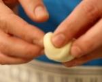 Кардамонени хлебчета с крем от марципан (Семла) 4