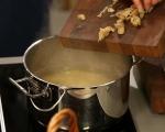 Супа от пилешко и печен чесън 7