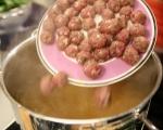 Спаначена супа с топчета от телешко 4