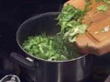 Супа от грах с маруля 3