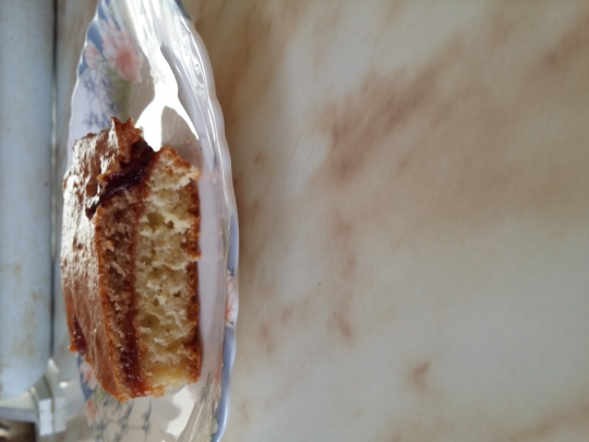 Кекс с мармалад