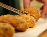 Печени кюфтета със сирене 4