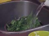 Агнешко фрикасе с пилаф от коприва 2