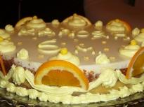 Шоколадово-портокалова торта
