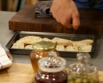 Зелена салата с маслини 4